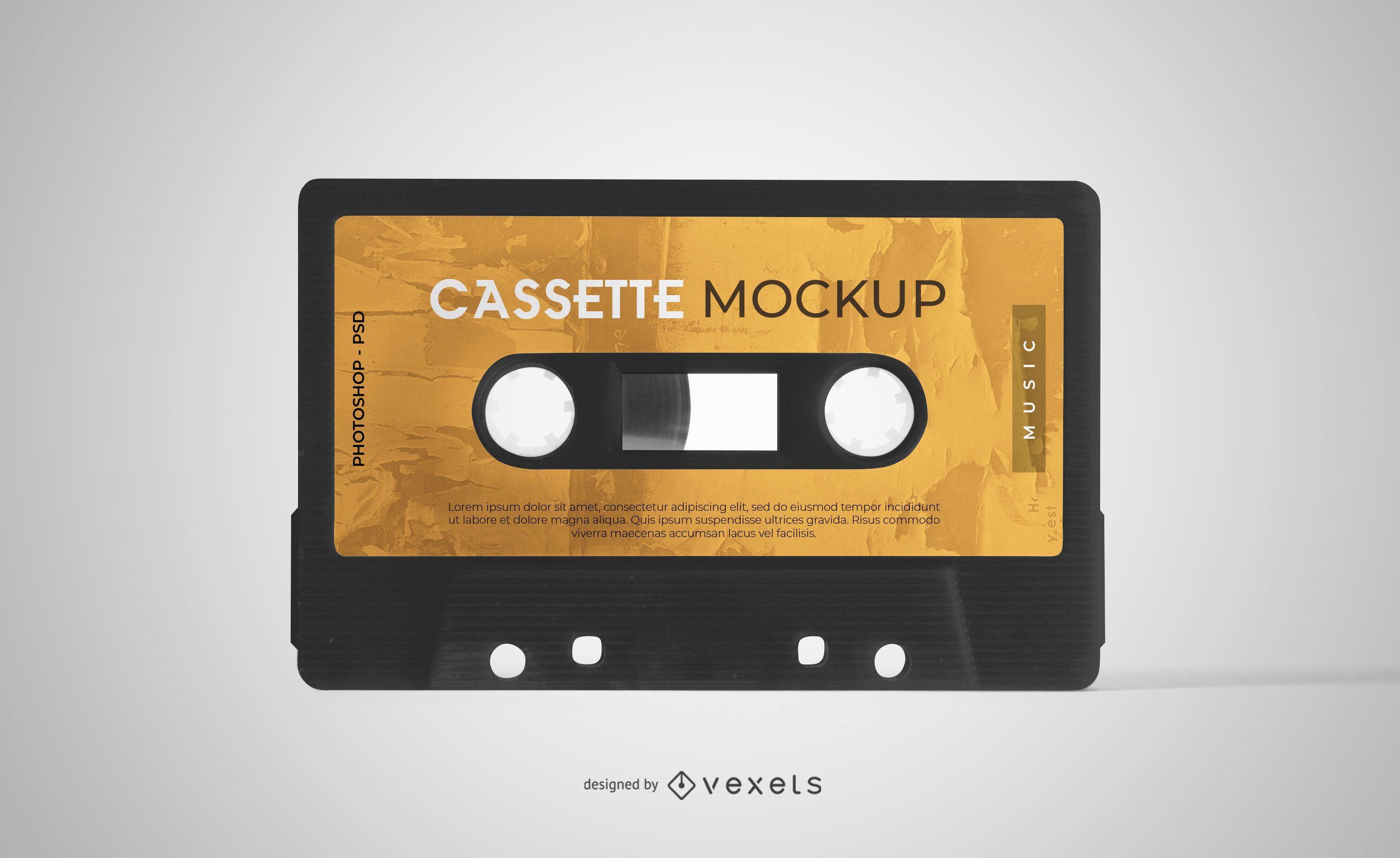 Maqueta de cinta de casete