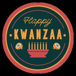 Insignia happy kwanzaa