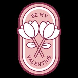 Seja meu distintivo dos namorados
