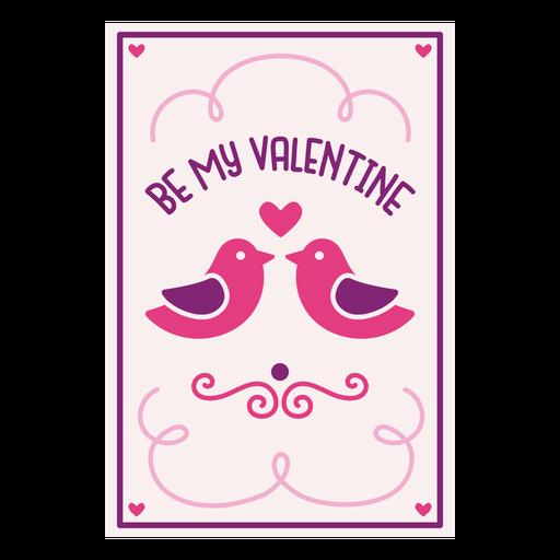Se mi tarjeta de san valentin Transparent PNG