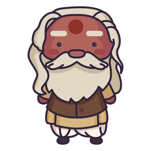 Bearded man indian cute Transparent PNG