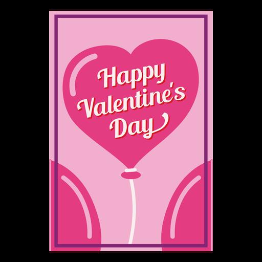 Card happy valentines