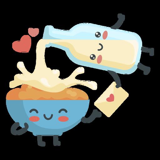 Cereal milk couple
