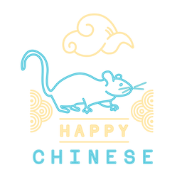 Año nuevo chino rata