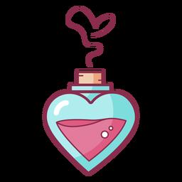 Amor color San Valentín perfume
