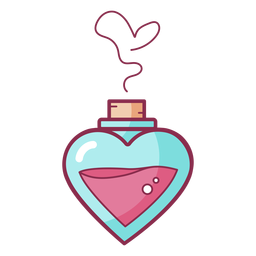 Color valentine perfume amor
