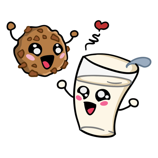 Cookie milk love