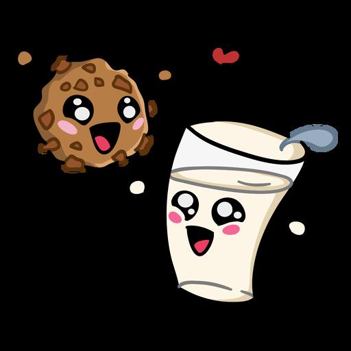 Galleta leche amor
