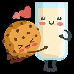Amantes de biscoitos de leite