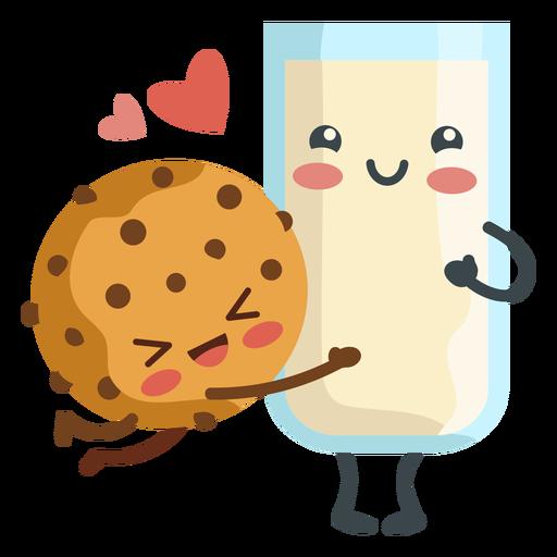 Amantes de la leche de galletas