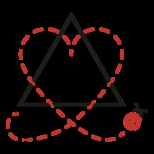 Cool adoption symbol Transparent PNG