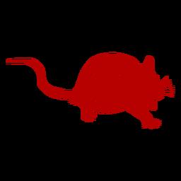 Chinesisches Neujahr der hockenden Ratte