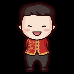 Linda ropa tradicional china
