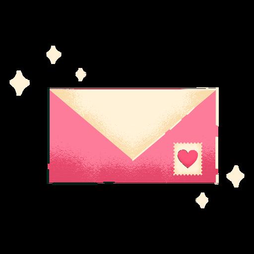 Cute letter valentines Transparent PNG