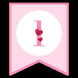 Lindo banner de amor 1