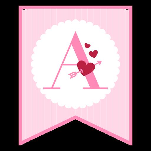 Cute love banner a