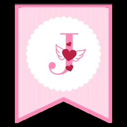 Cute love banner j