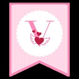 Cute love banner v