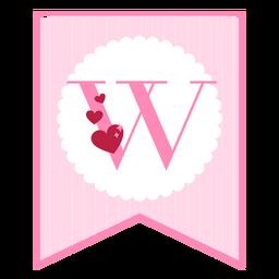 Cute love banner w