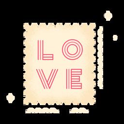 Lindo sello de amor