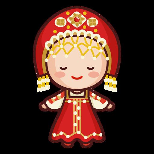 Cute russian traditional headwear