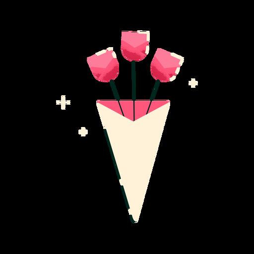 Cute three flowers