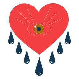 Herz weinende Augen romantisch