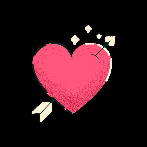 Heart shot by arrow Transparent PNG