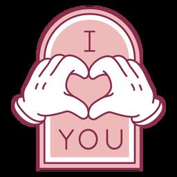 Yo corazón tu insignia