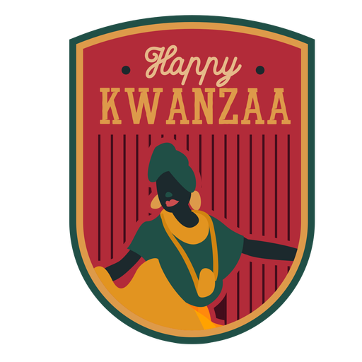Insignia de Kwanzaa feliz Transparent PNG