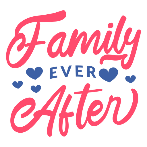 Lettering family ever after