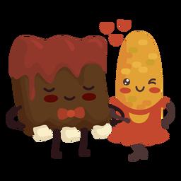 Me encantan las costillas de maíz