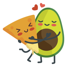 Nacho guacamole couple