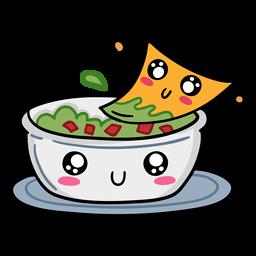 Nacho guacamole love