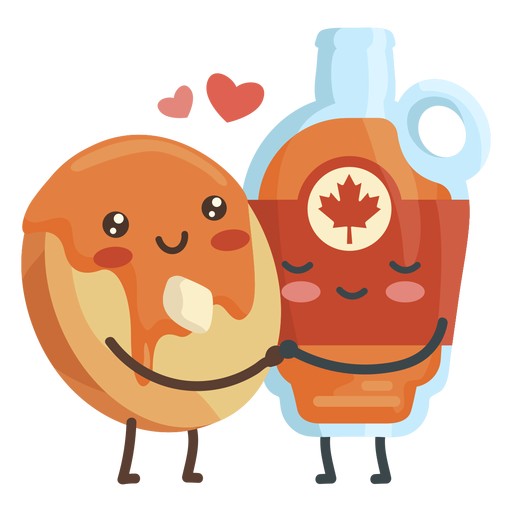 Pancake maple syrup lovers