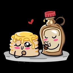 Pancake syrup love