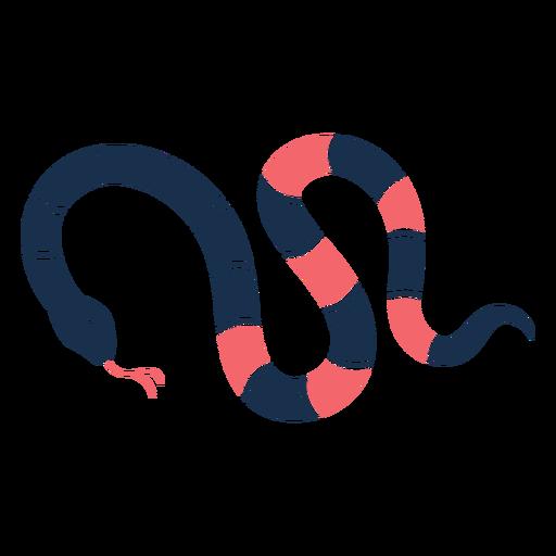 Romantic sad snake
