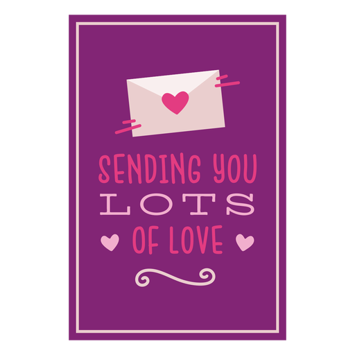 Enviar muchas tarjetas de amor Transparent PNG