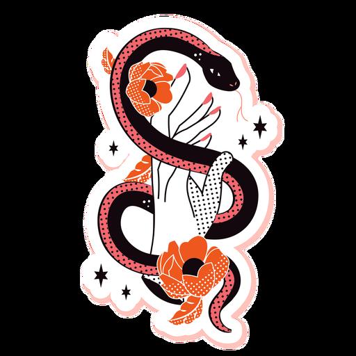 Cobra romântica triste