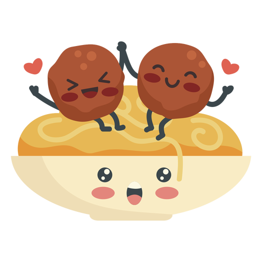 Spaghetti meatballs lovers
