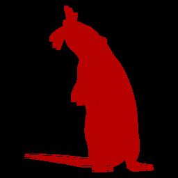 Stehende Ratte chinesisches Neujahr