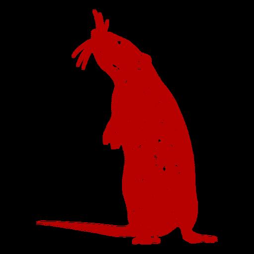 Stehende Ratte chinesisches Neujahr Transparent PNG