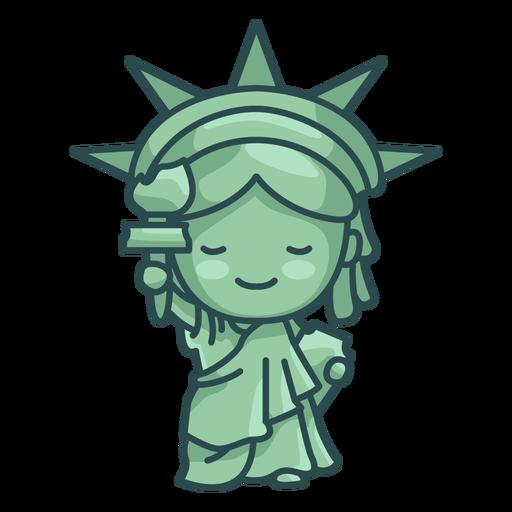 Statue of liberty cute
