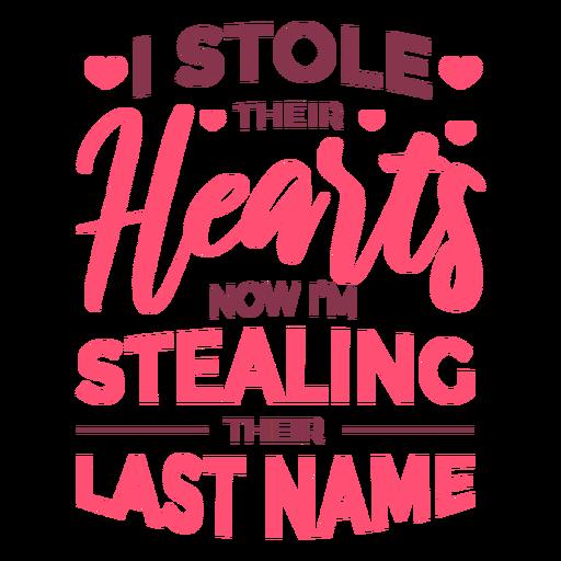 Roubar letras de sobrenome