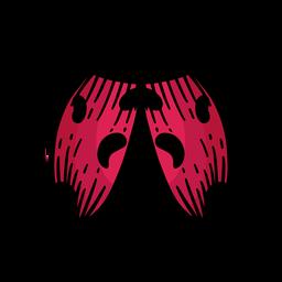 Dibujado a mano símbolo mariquita