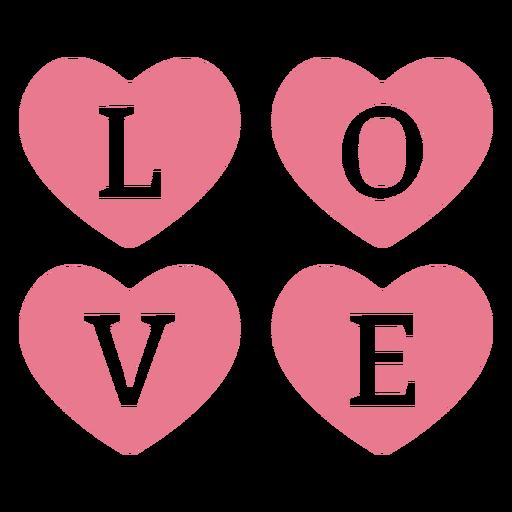 Valentine love pink Transparent PNG