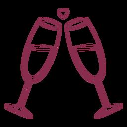 San Valentín aclama la burbuja del corazón