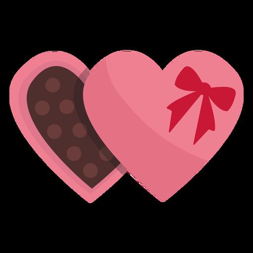 Valentine chocolate plano