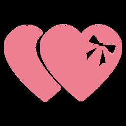 Dia dos namorados chocolate rosa