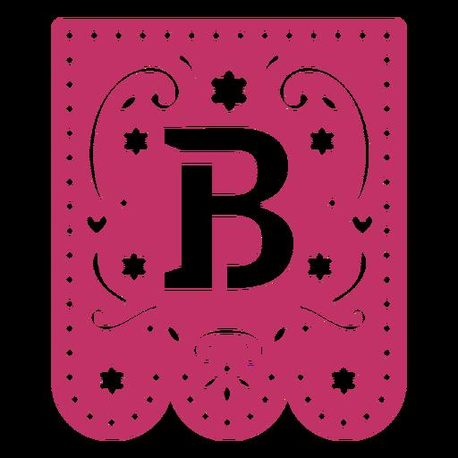 Valentine garland papercut b